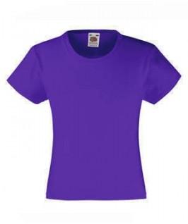 Camiseta lila