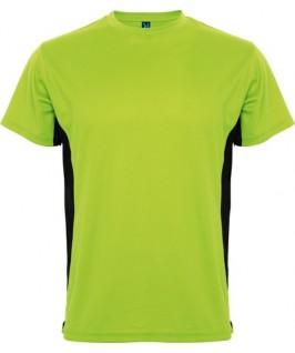 Camiseta lima con negro