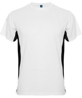 Camiseta blanco con negro