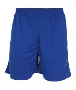 Pantalón corto azul eléctrico