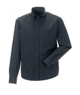 Camisa gris oscuro