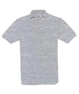 Polo gris jaspeado