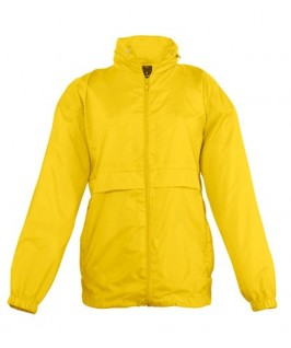Chubasquero amarillo
