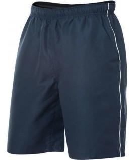 Pantalones cortos azul marino con blanco