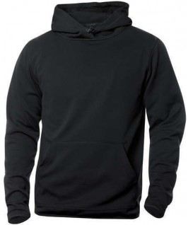 Sudadera capucha negro