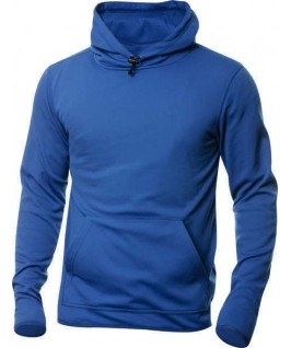 Sudadera capucha azul eléctrico