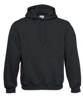 Sudadera con capucha negra