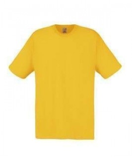 camiseta amarillo oro