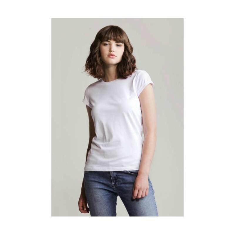 Camiseta rock & roll blanca