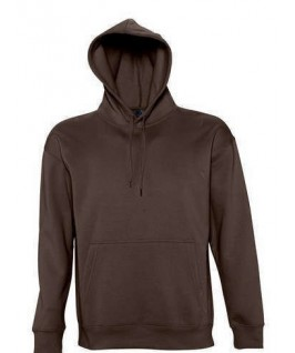 Sudadera marrón chocolate