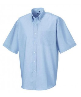 Camisa manga corta azul cielo