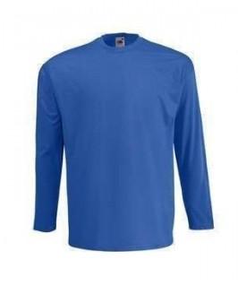 Camiseta azul eléctrico