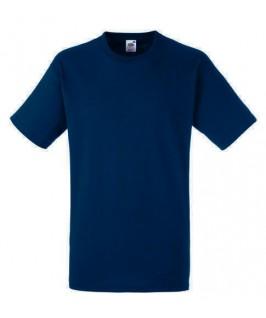 Camiseta Heavy azul marino