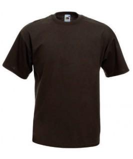 Camiseta marrón chocolate
